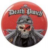 Five Finger Death Punch - 'Knucklehead' Button Badge